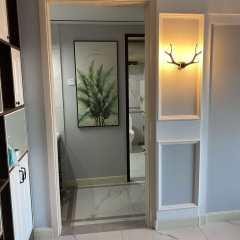 奥体花园2室1厅1卫101m²豪华装修    拎包即住