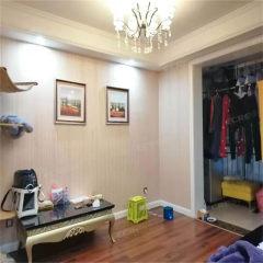 城北鑫佳玫瑰园 中间层 豪装两室 可贷款 含车位储送部分家居