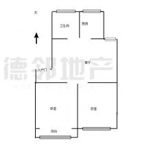 (市中心)新兴南区续建东区3楼,2室朝阳,满五,送储藏室