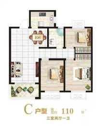 (城东)信华城二期马上开盘 113平140平170平 多种面积,手续稳定