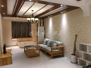 (城北)通盛上海花园2室2厅1卫1800元/月92m²简单装修出租 家具家电基本齐全。